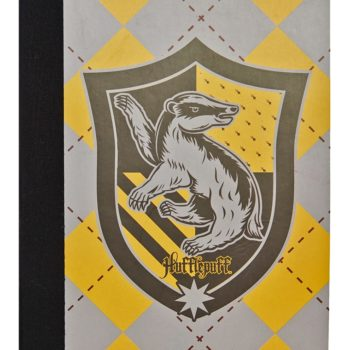 Cahier Pouffsoufle - Primark Harry Potter