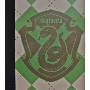 Cahier Serpentard - Primark Harry Potter