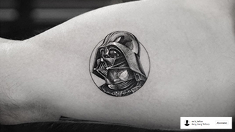 Mr. K_Tattoo Dark Vador Instagram