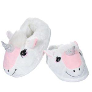Pantoufles Licornes