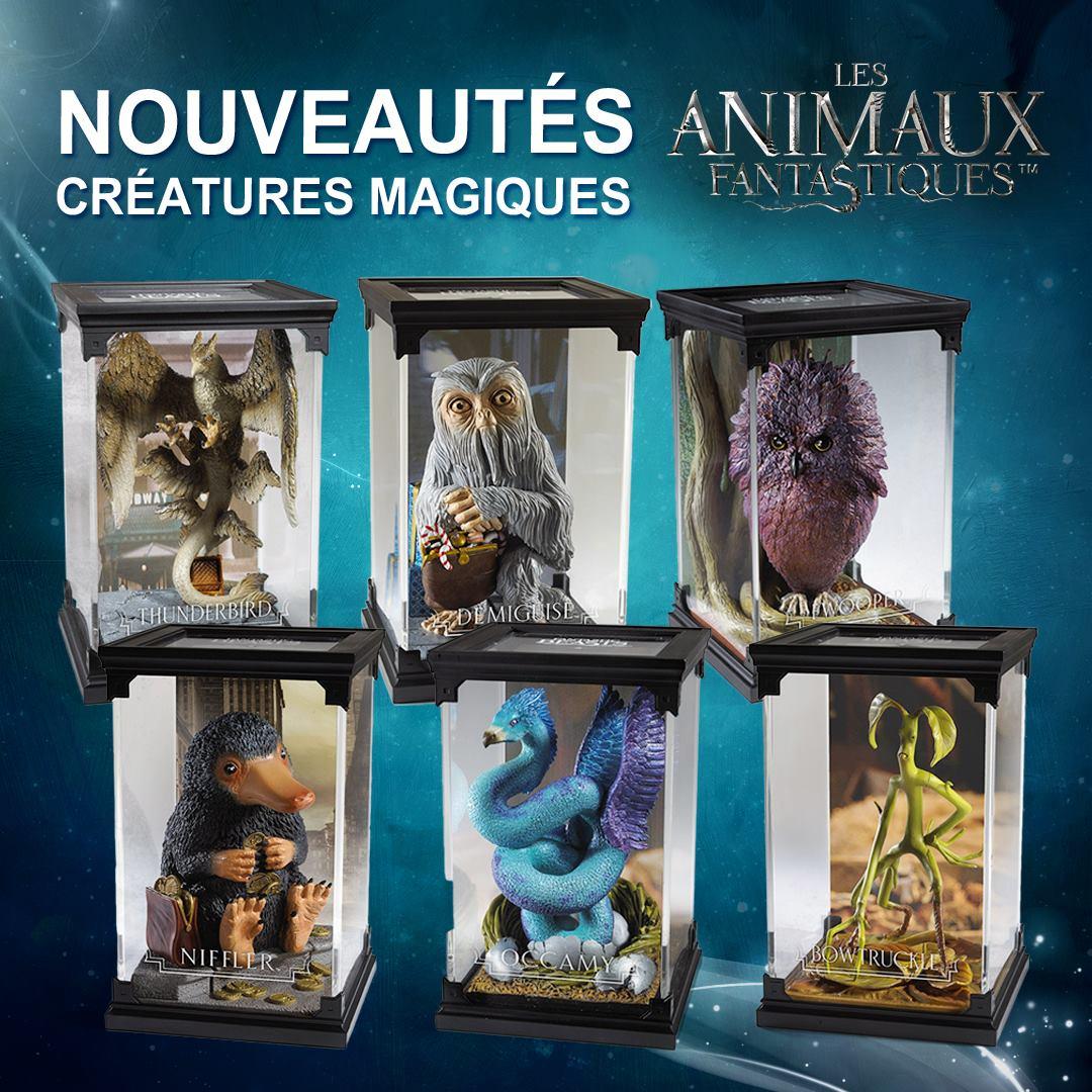 Figurines Créatures Magiques Les animaux Fantastiques