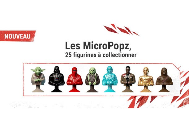 MicroPopz Star Wars