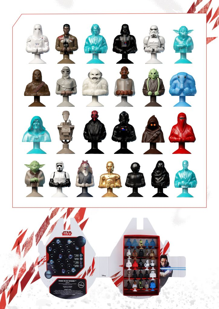 MicroPopz Star Wars Listing