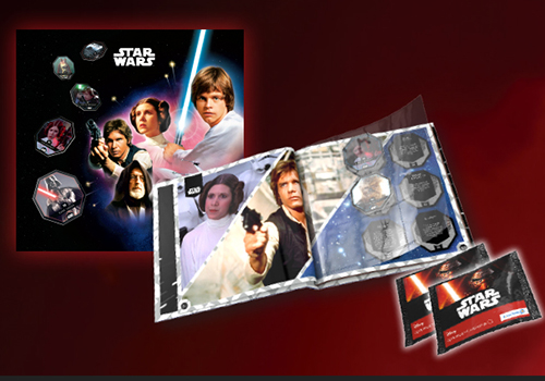 ALbum jetons Star Wars Série 1