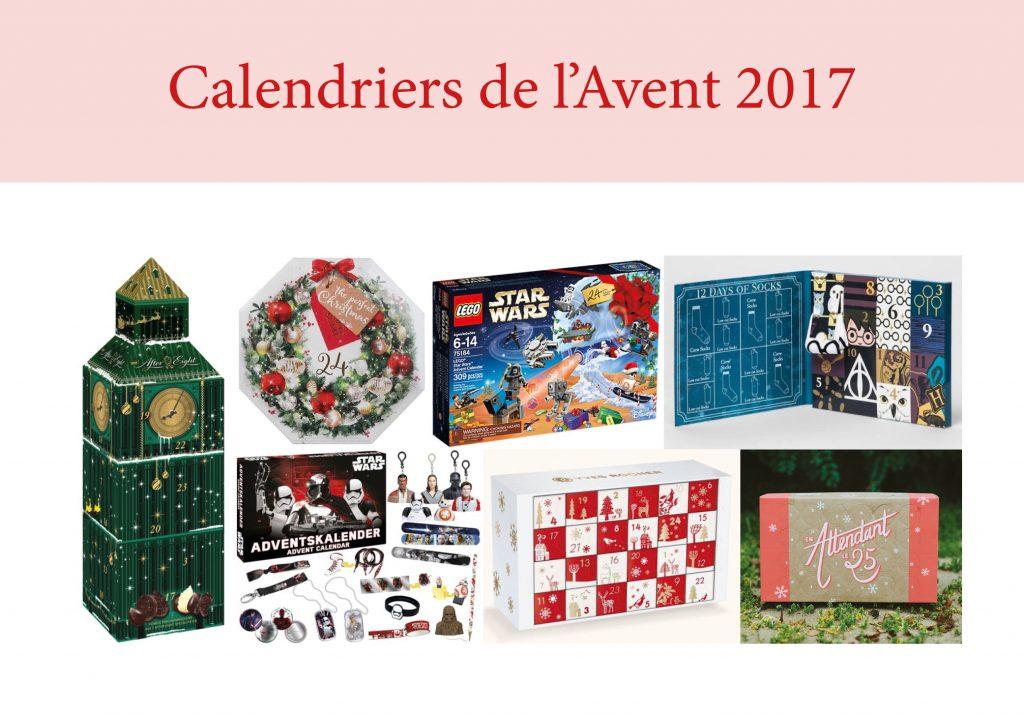 calendrier de l'avent 2017