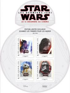 Timbre Collector Star Wars 8