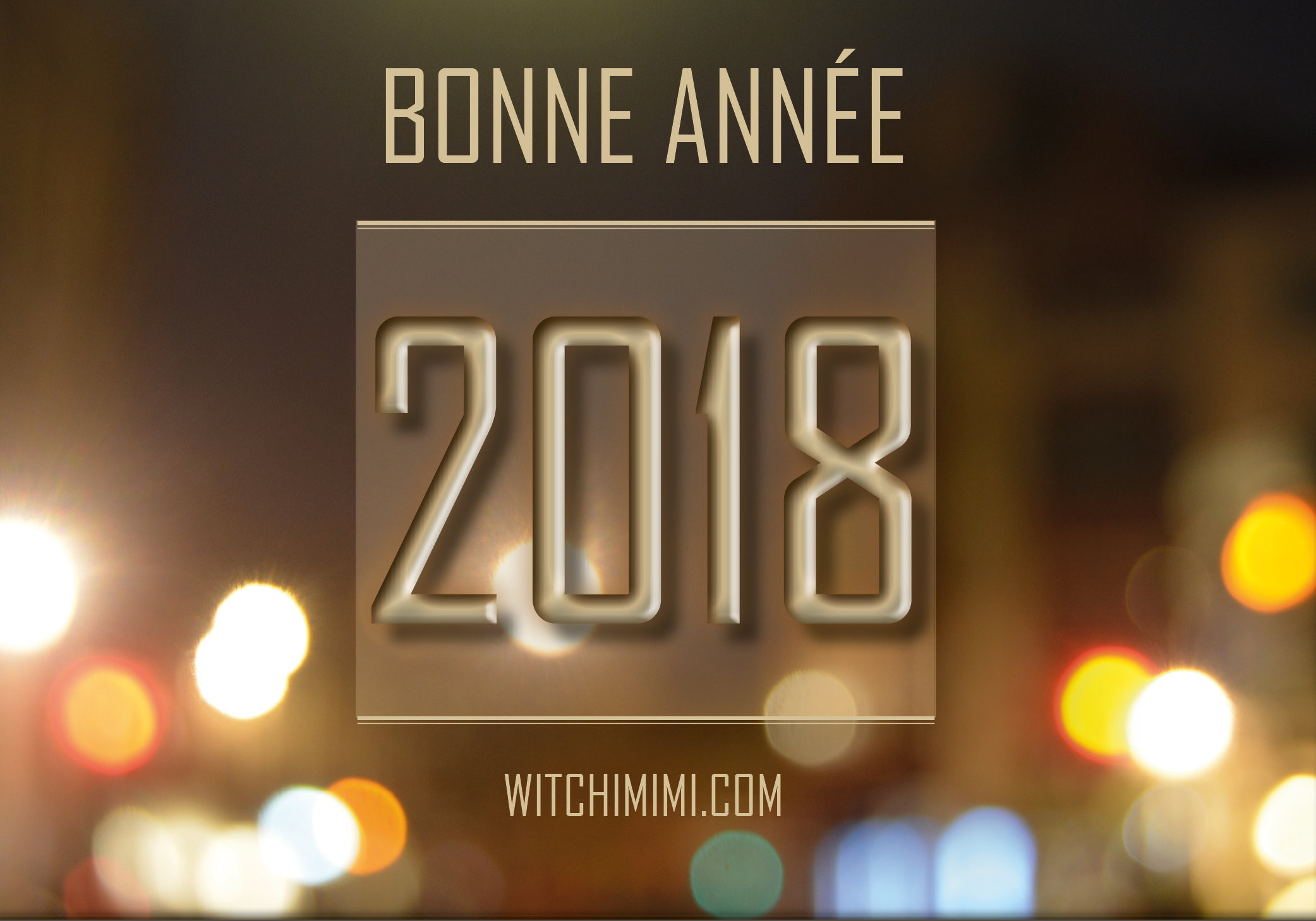 Bonne année 2018 - Witchimimi