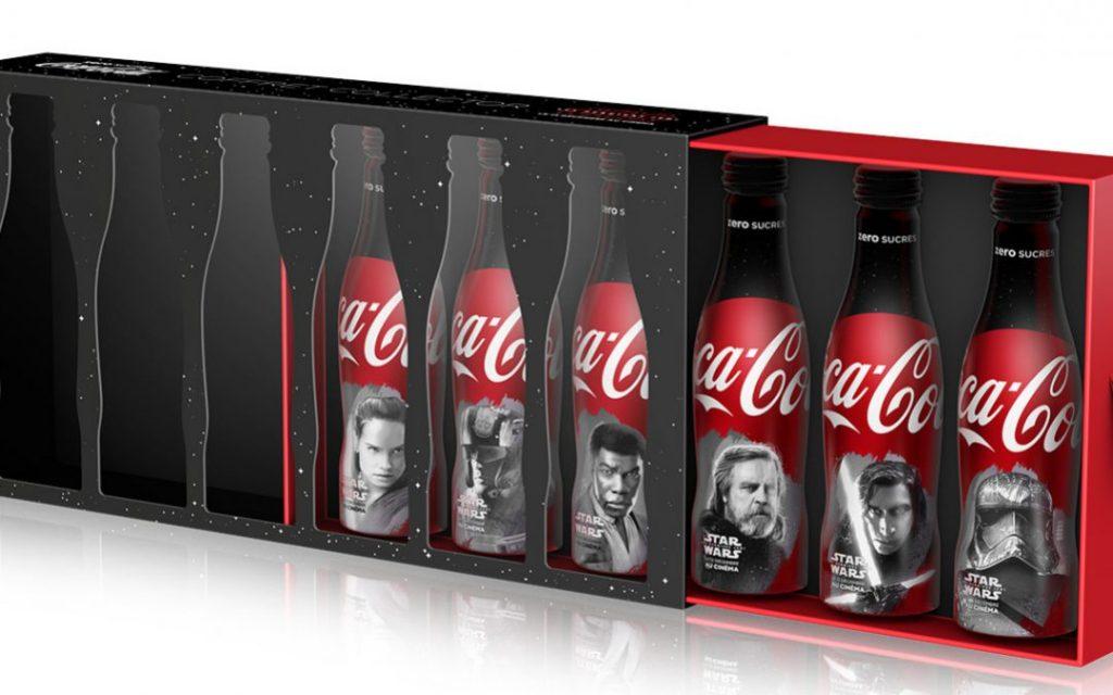 Coffrect Coca Cola Star Wars 8 Collector