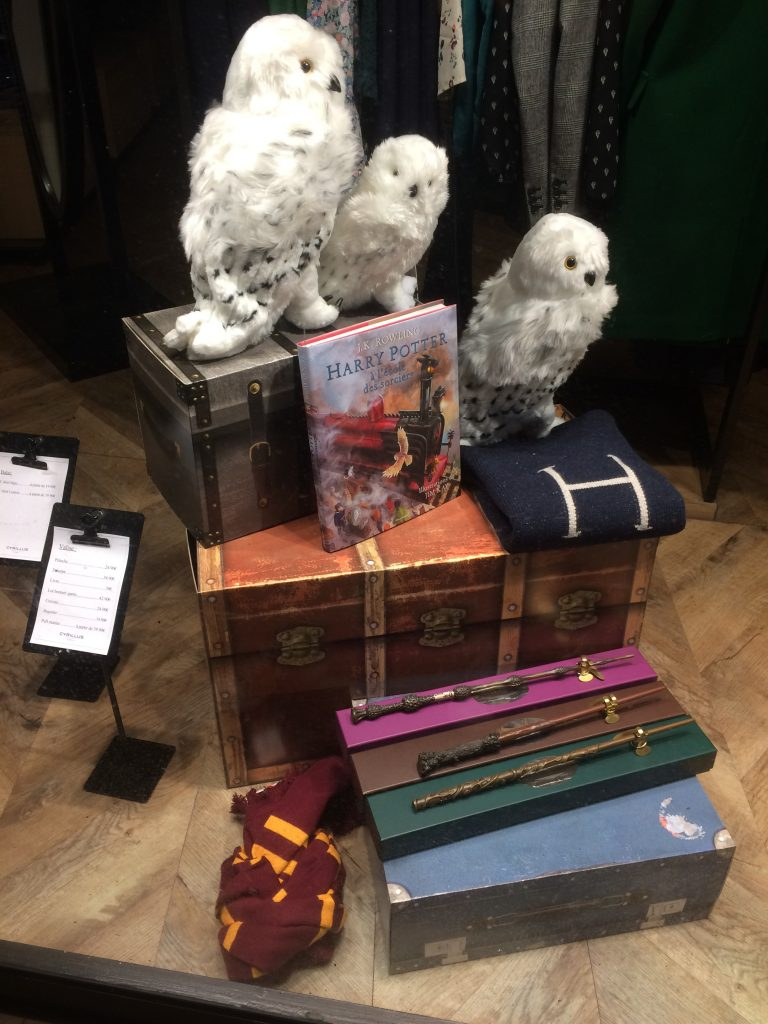 Collection Cyrillus Harry Potter - Vitrine Lille