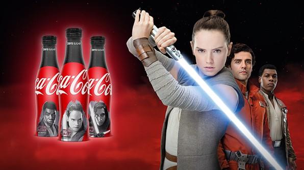 Coca Cola Star Wars 8 Grande Bretagne