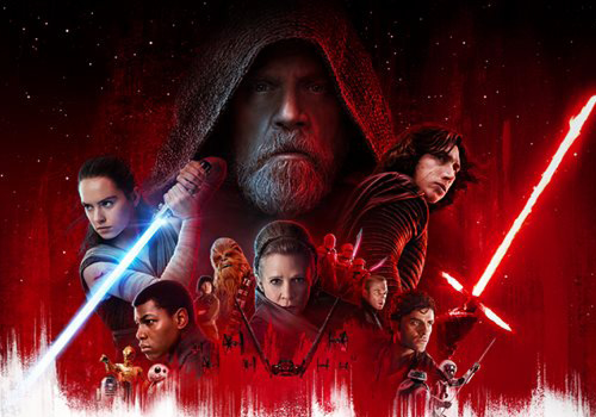 Star Wars The Last Jedi Film Affiche