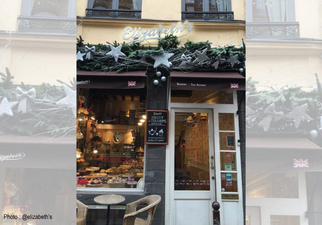 Salon de thé Elizabeth's à Lille