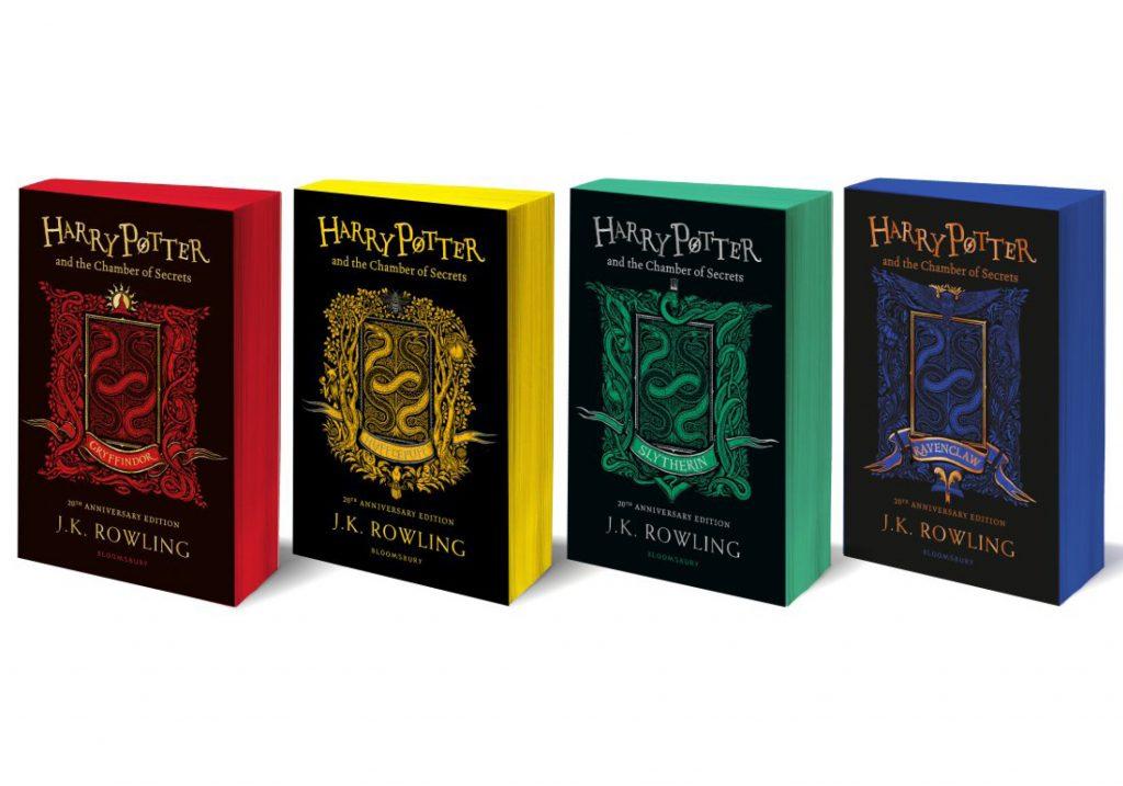 Harry Potter Et La Chambre Des Secrets Edition Anniversaire