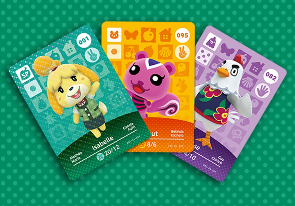 Animal Crossing cartes amiibo