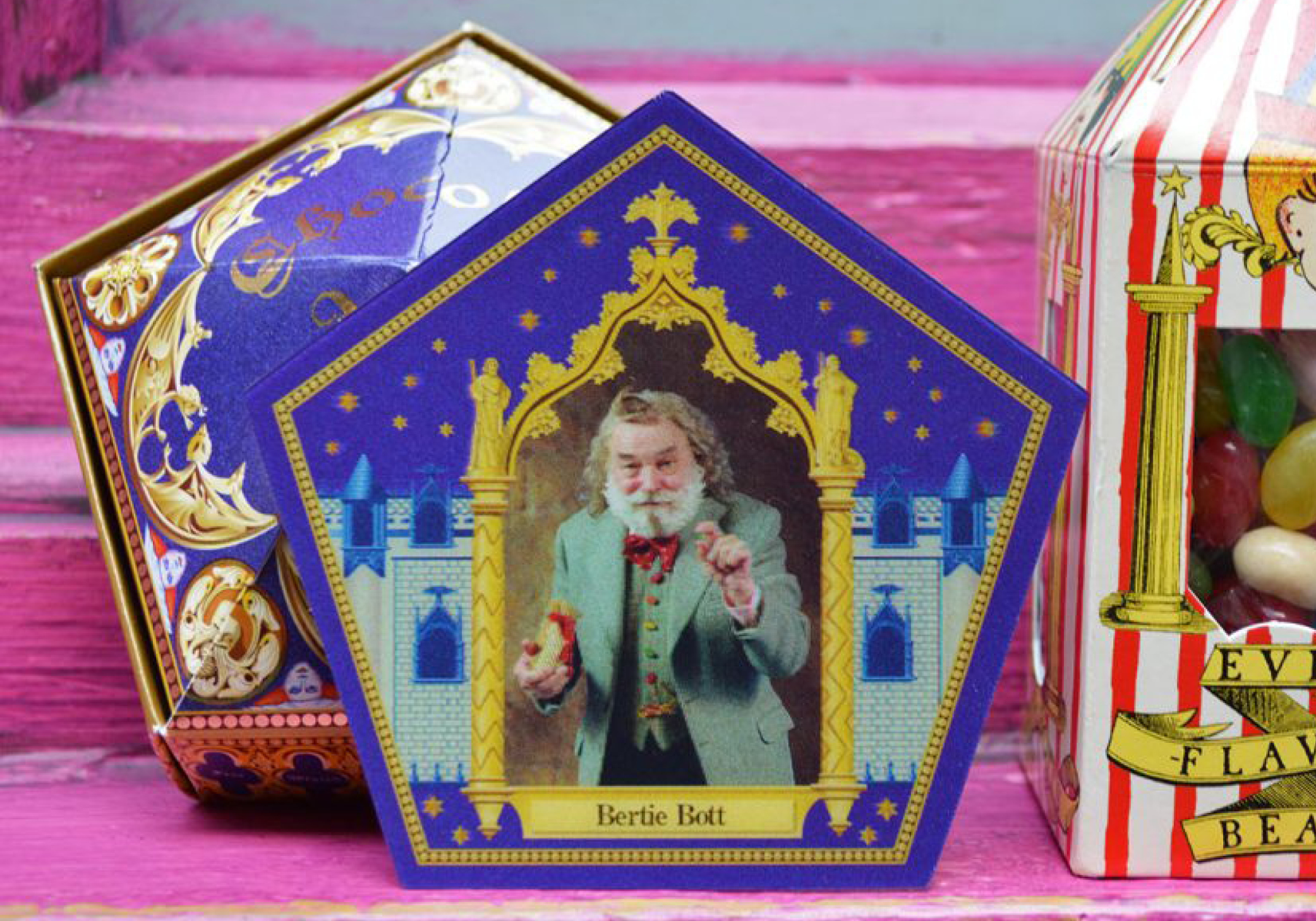 Nouvelle carte chocogrenouille Harry Potter