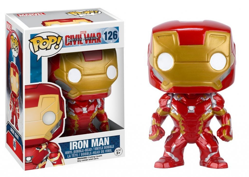 Figurine Pop ! Marvel 126 Iron Man