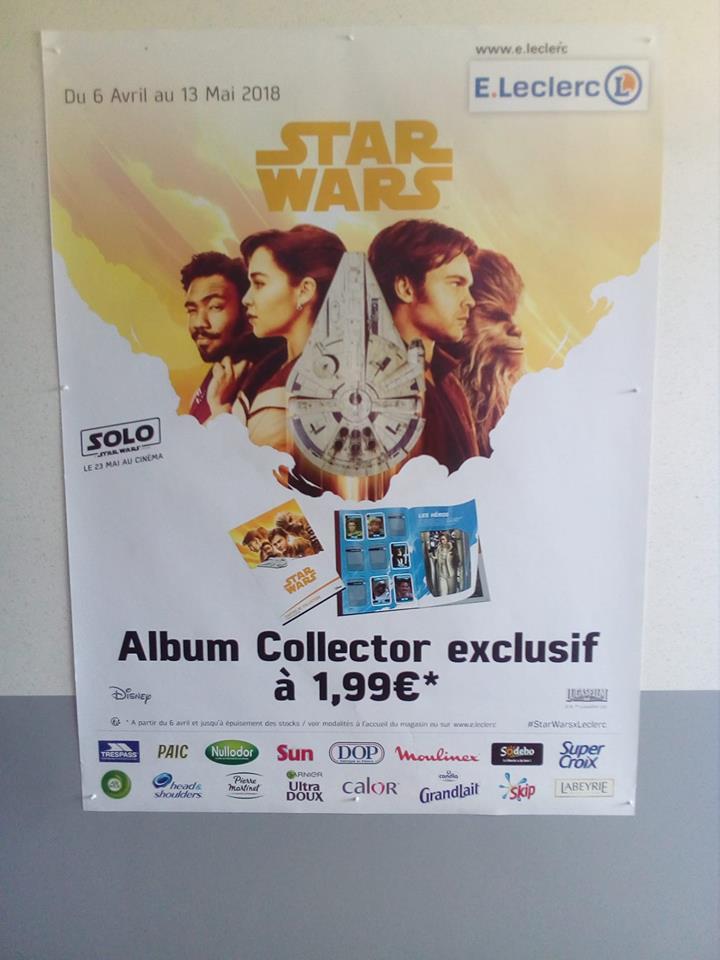 Stickers E.Leclerc SOLO Star Wars