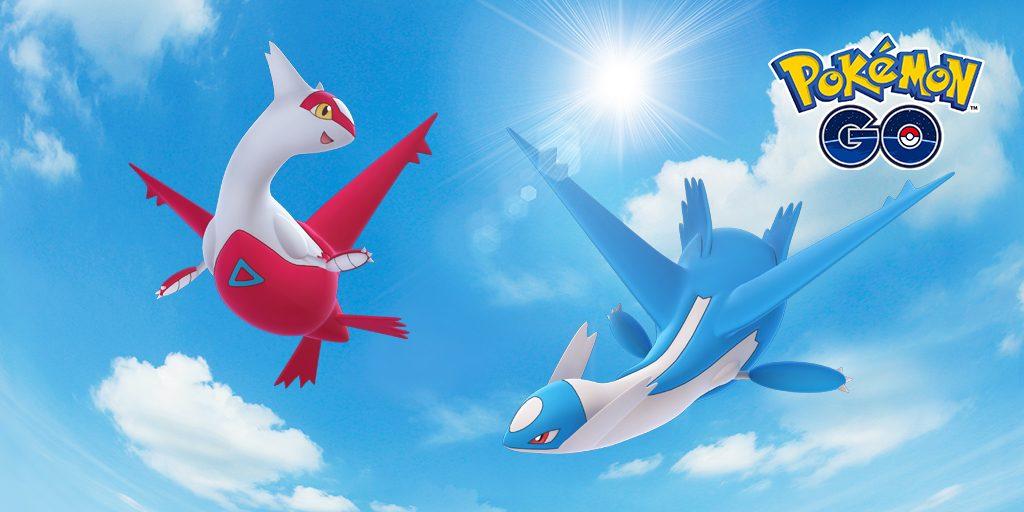Pokemon GO Latias et Latios