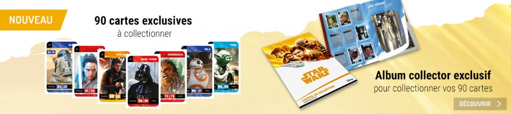 Cartes Star Wars E.Leclerc