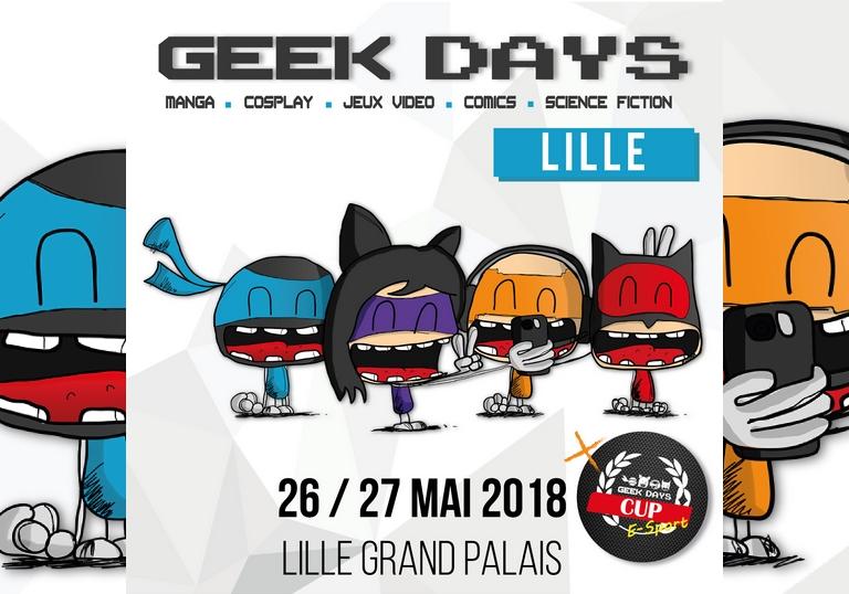 Geek Days Lille 2018