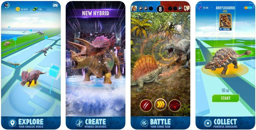 Jurassic World™ Alive app store