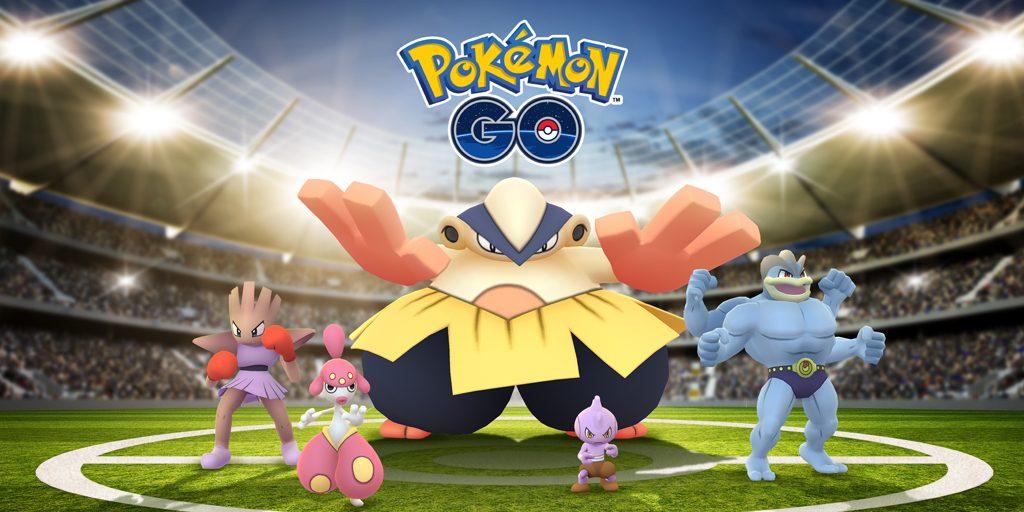 Pokemon GO Event Combat 18