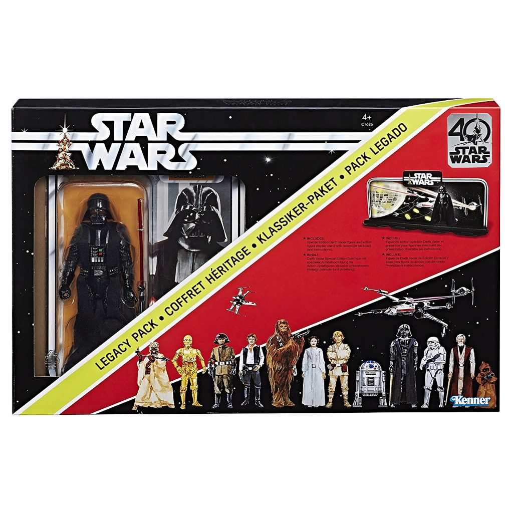 Coffret 40 ans figurine Dark Vador Star Wars