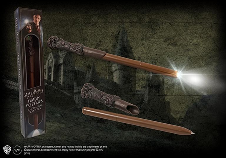 Stylo Lumineux Baguette Magique Harry Potter