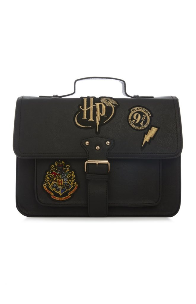 Cartable Hogwarts Primark Noir