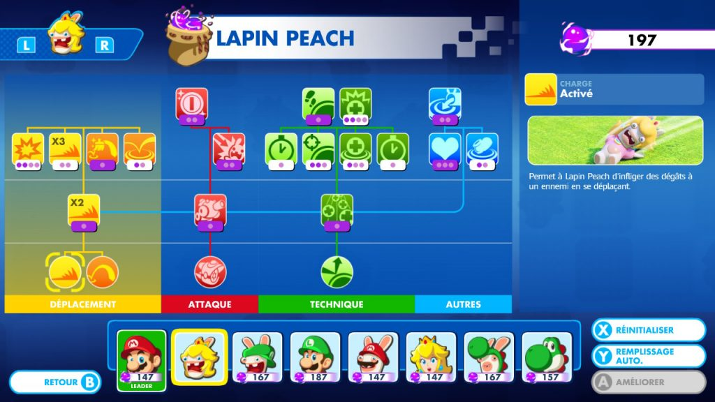 Mario + The Lapins Crétins: Kingdom Battle Nintendo Switch Lapin Peach 02