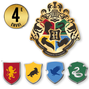 Pins Hogwarts