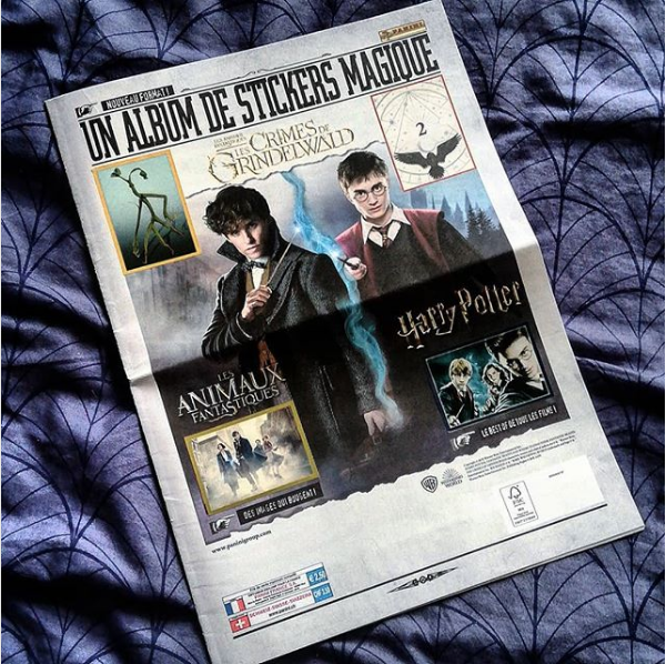 Journal Panini Les Crimes de Grindelwald - instagram @witchimimi