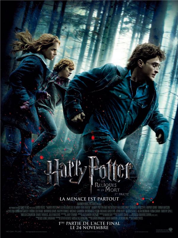 Harry Potter et les reliques de la mart partie 1