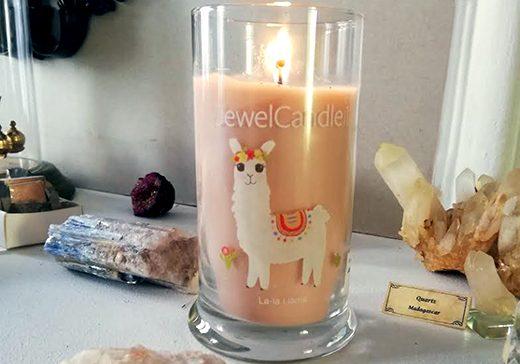 JewelCandle Bougie La-la-Llama