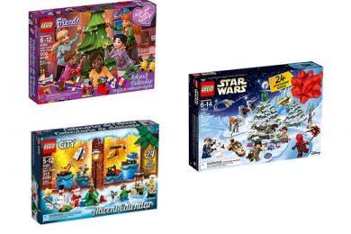 LEGO calendrier de l'avent 2018