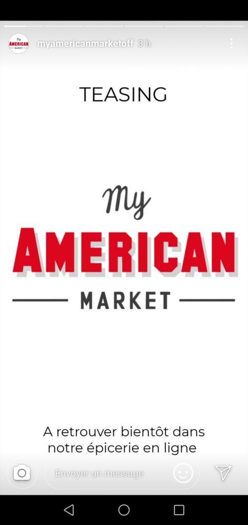 Instagram Story My American Market