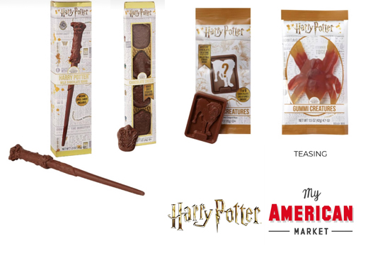 bonbons chocolats Harry Potter