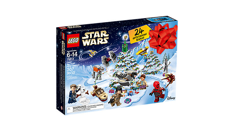 calendrier lego star wars face