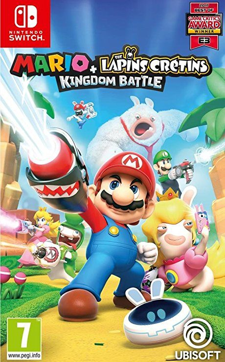 Mario + The Lapins Crétins: Kingdom Battle Nintendo Switch