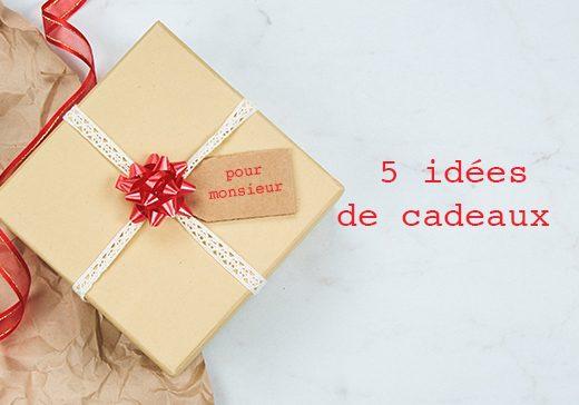 5 idées de cadeaux pour homme