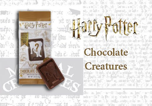 Creatures en Chocolat Harry Potter