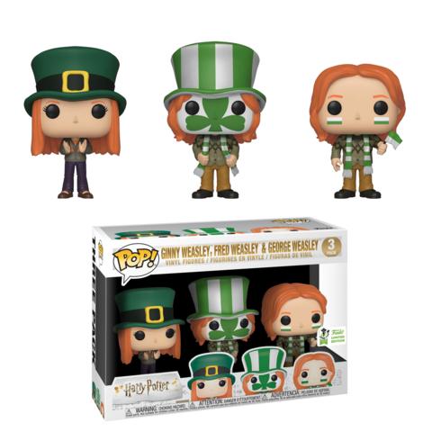 Funko Pop! Fred, George and Ginny Weasley
