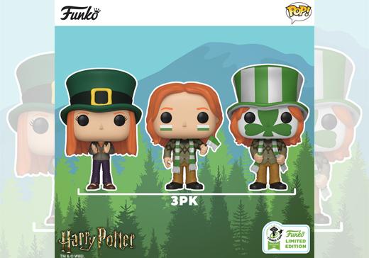 Couverture Comic Con 2019 Funko Pop! Harry Potter