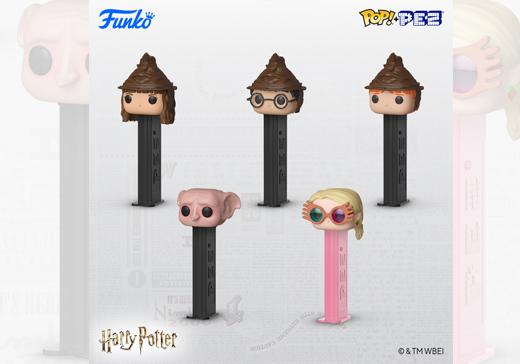 Figurines PEZ POP! Harry Potter