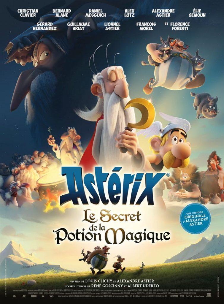 Affiche Astérix - Le Secret de la Potion Magique