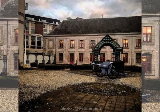 Musée des canonniers Lille Entrée