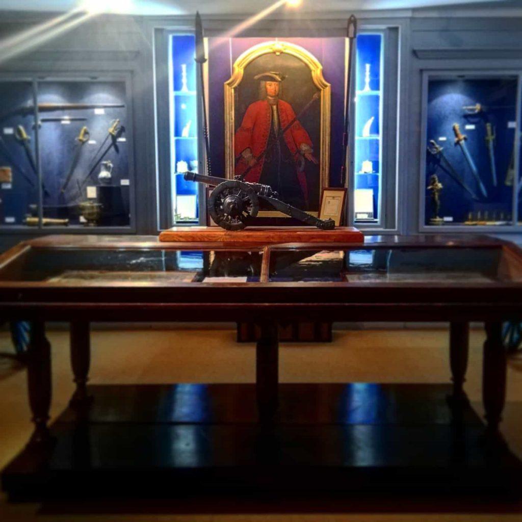 Musee des canonniers à Lille salle 1