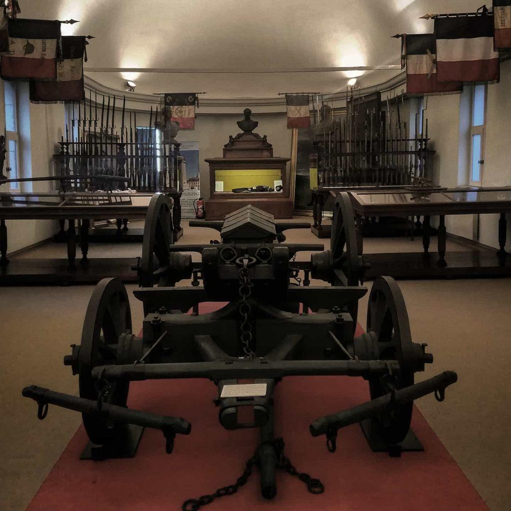 Musee des canonniers à Lille salle 2 Canon