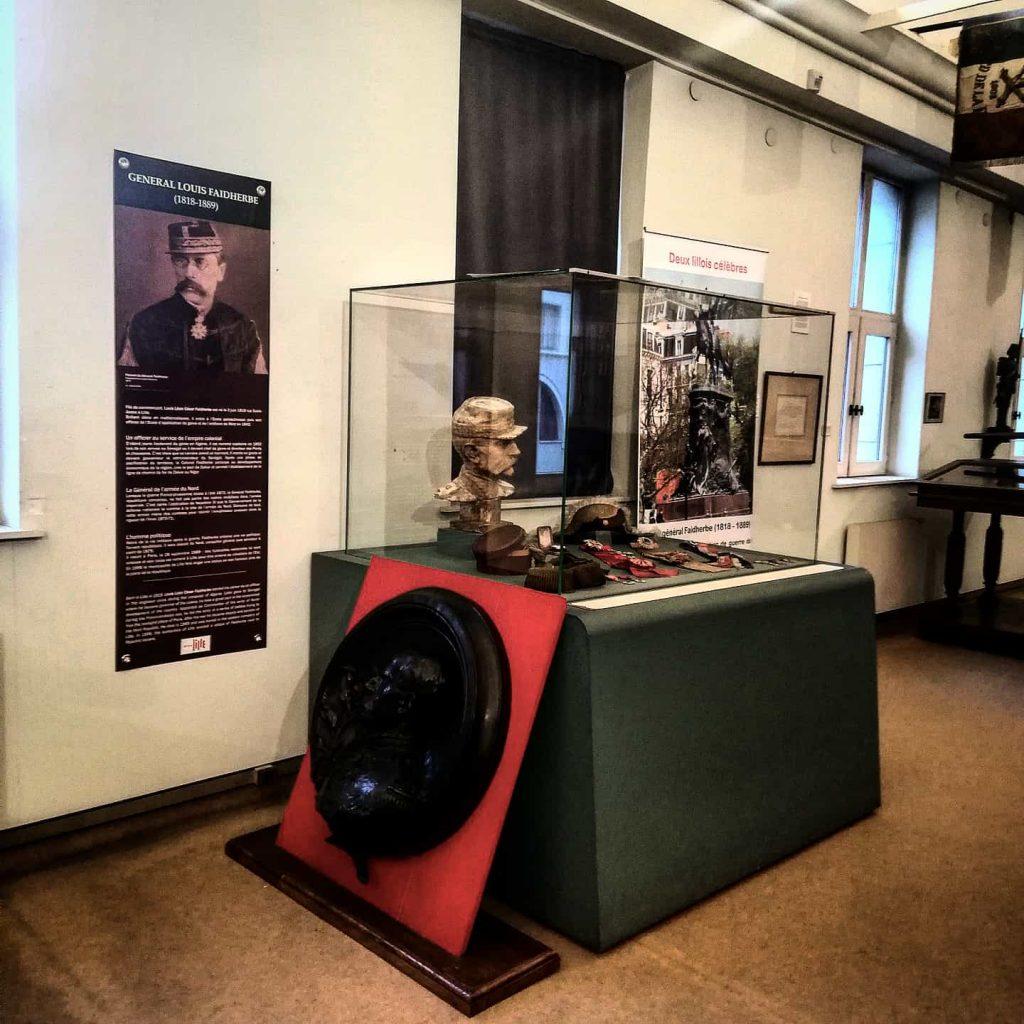Musee des canonniers à Lille salle 2 Faidherbe