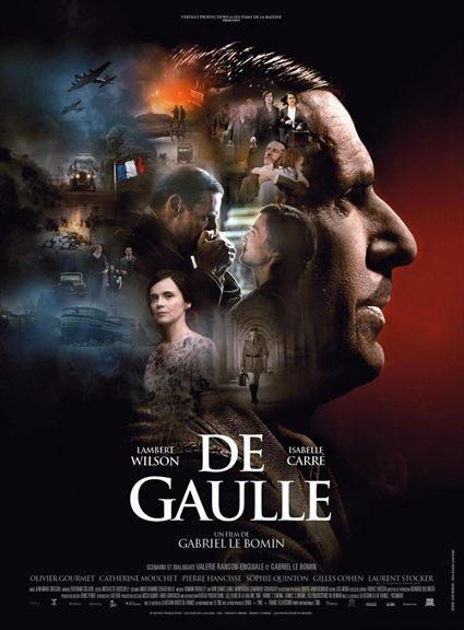 Affiche Film De Gaulle